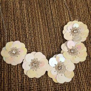Jewelry - Iridescent Flower Petal Necklace